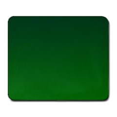 Dark Green To Green Gradient Large Mouse Pad (Rectangle)