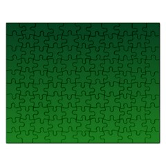 Dark Green To Green Gradient Jigsaw Puzzle (Rectangle)