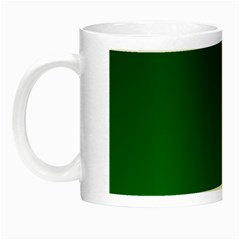 Dark Green To Green Gradient Glow In The Dark Mug