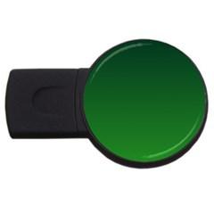 Dark Green To Green Gradient 4GB USB Flash Drive (Round)
