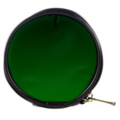 Dark Green To Green Gradient Mini Makeup Case