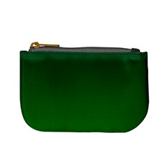 Dark Green To Green Gradient Coin Change Purse
