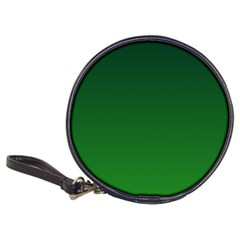 Dark Green To Green Gradient CD Wallet