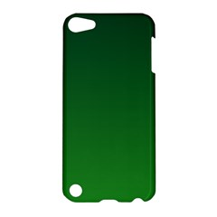 Dark Green To Green Gradient Apple iPod Touch 5 Hardshell Case