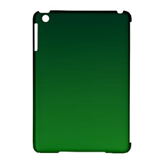 Dark Green To Green Gradient Apple Ipad Mini Hardshell Case (compatible With Smart Cover)