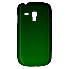Dark Green To Green Gradient Samsung Galaxy S3 Mini I8190 Hardshell Case