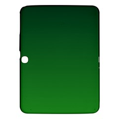 Dark Green To Green Gradient Samsung Galaxy Tab 3 (10.1 ) P5200 Hardshell Case