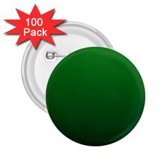 Green To Dark Green Gradient 2 25  Button (100 Pack)