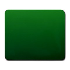 Green To Dark Green Gradient Large Mouse Pad (rectangle)