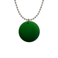 Green To Dark Green Gradient Button Necklace