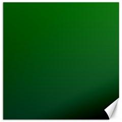 Green To Dark Green Gradient Canvas 16  x 16  (Unframed)