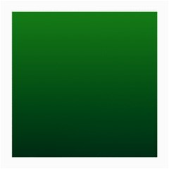 Green To Dark Green Gradient Glasses Cloth (medium, Two Sided)