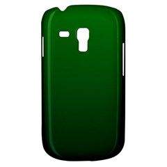 Green To Dark Green Gradient Samsung Galaxy S3 Mini I8190 Hardshell Case