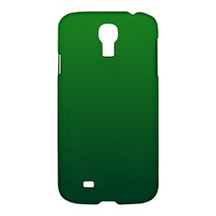 Green To Dark Green Gradient Samsung Galaxy S4 I9500 Hardshell Case