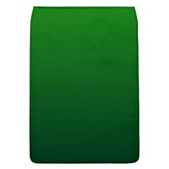 Green To Dark Green Gradient Removable Flap Cover (large)