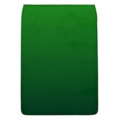Green To Dark Green Gradient Removable Flap Cover (Small)