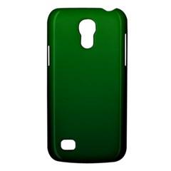 Green To Dark Green Gradient Samsung Galaxy S4 Mini Hardshell Case