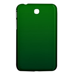 Green To Dark Green Gradient Samsung Galaxy Tab 3 (7 ) P3200 Hardshell Case