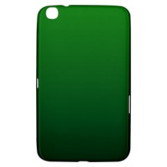 Green To Dark Green Gradient Samsung Galaxy Tab 3 (8 ) T3100 Hardshell Case