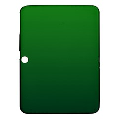 Green To Dark Green Gradient Samsung Galaxy Tab 3 (10.1 ) P5200 Hardshell Case