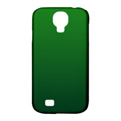 Green To Dark Green Gradient Samsung Galaxy S4 Classic Hardshell Case (PC+Silicone)