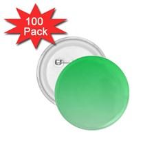 Dark Pastel Green To Pastel Green Gradient 1 75  Button (100 Pack)