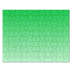Dark Pastel Green To Pastel Green Gradient Jigsaw Puzzle (rectangle)
