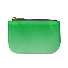 Dark Pastel Green To Pastel Green Gradient Coin Change Purse