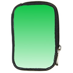 Dark Pastel Green To Pastel Green Gradient Compact Camera Leather Case