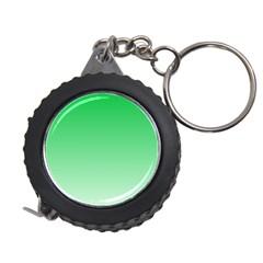 Dark Pastel Green To Pastel Green Gradient Measuring Tape