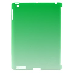 Dark Pastel Green To Pastel Green Gradient Apple Ipad 3/4 Hardshell Case (compatible With Smart Cover)