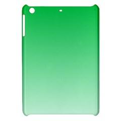 Dark Pastel Green To Pastel Green Gradient Apple iPad Mini Hardshell Case
