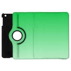 Dark Pastel Green To Pastel Green Gradient Apple iPad Mini Flip 360 Case