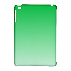 Dark Pastel Green To Pastel Green Gradient Apple Ipad Mini Hardshell Case (compatible With Smart Cover)