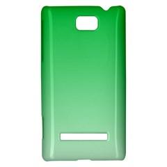 Dark Pastel Green To Pastel Green Gradient HTC 8S Hardshell Case