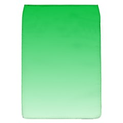 Dark Pastel Green To Pastel Green Gradient Removable Flap Cover (Large)