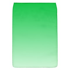 Dark Pastel Green To Pastel Green Gradient Removable Flap Cover (Small)