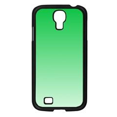 Dark Pastel Green To Pastel Green Gradient Samsung GALAXY S4 I9500 (Black)