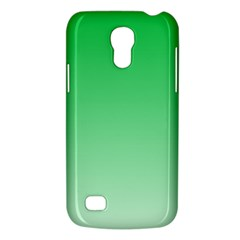 Dark Pastel Green To Pastel Green Gradient Samsung Galaxy S4 Mini Hardshell Case