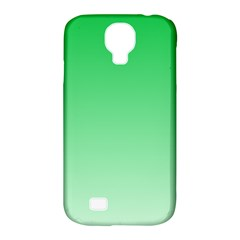 Dark Pastel Green To Pastel Green Gradient Samsung Galaxy S4 Classic Hardshell Case (PC+Silicone)