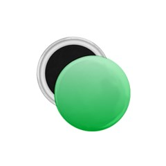 Pastel Green To Dark Pastel Green Gradient 1 75  Button Magnet