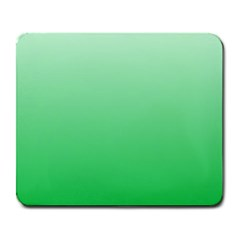 Pastel Green To Dark Pastel Green Gradient Large Mouse Pad (Rectangle)