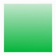 Pastel Green To Dark Pastel Green Gradient Glasses Cloth (medium, Two Sided)