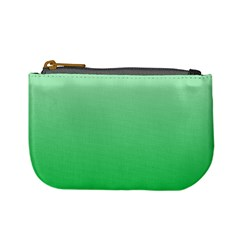 Pastel Green To Dark Pastel Green Gradient Coin Change Purse