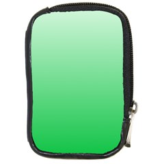 Pastel Green To Dark Pastel Green Gradient Compact Camera Leather Case
