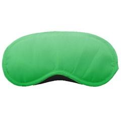 Pastel Green To Dark Pastel Green Gradient Sleeping Mask
