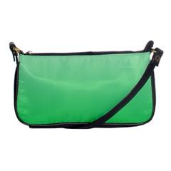 Pastel Green To Dark Pastel Green Gradient Evening Bag