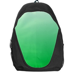 Pastel Green To Dark Pastel Green Gradient Backpack Bag