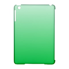 Pastel Green To Dark Pastel Green Gradient Apple iPad Mini Hardshell Case (Compatible with Smart Cover)