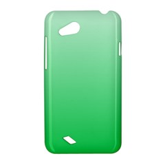 Pastel Green To Dark Pastel Green Gradient HTC T328D (Desire VC) Hardshell Case